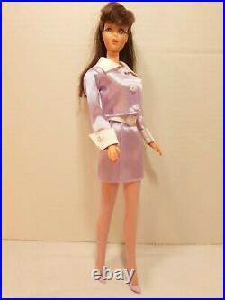 Vintage 1967 Barbie Doll TNT Bend Knees Mod #1160 Brunette