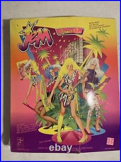 Vintage 1985 Jem Truly Outrageous Doll STORMER Misfits Mint in Box NIB Hasbro