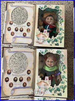 Vintage 1997 Berenguer Elfs The Great Elven Forest #6000 HIGE COLLECTION
