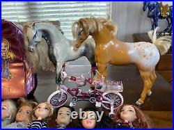 Vintage BRATZ 2001 HUGE Lot of 20 Dolls & Mixed Accessories! Boyz Babiez LOOK