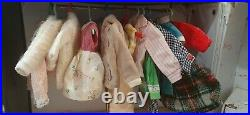 Vintage Ideal Tammy doll with collection of Fashions With Case