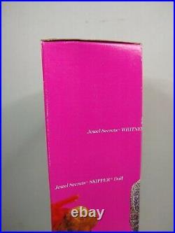 Vintage Jewel Secrets Whitney Barbie Doll 1986 Mattel 3179 Rare HTF NRFB NIB