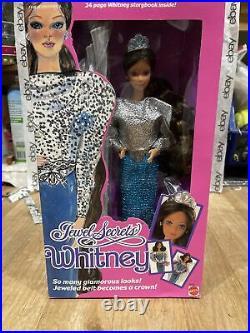 Vintage Jewel Secrets Whitney Barbie Doll 1986 Mattel 3179 Rare HTF NRFB NIB New