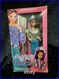 Vintage Jewel Secrets Whitney Barbie Doll 1986 Mattel Rare HTF NRFB