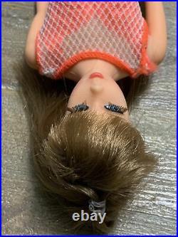 Vintage LIGHT BROWN TNT MOD Barbie With BOX #1160 VHTF Very Pretty