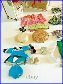 Vintage Lot of Vogue Ginny Doll and Clothing and Furniture