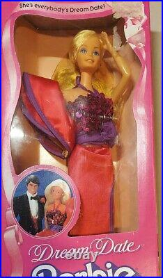 Vintage Mattel 1982 Dream Date Barbie Doll #5868 NRFB Sealed Nice