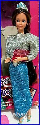 Vintage Mattel 1986 Jewel Secrets Whitney Barbie Doll 1986 New in Box