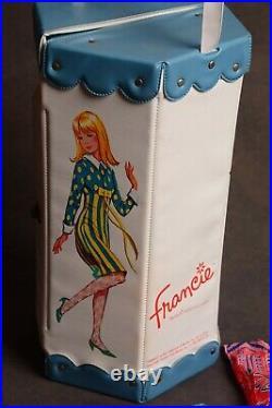 Vintage Mattel Barbie Family FRANCIE Cousin Box Case Closet 1965 CLOTHING LOT