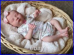WILLIAMS NURSERY REBORN NEWBORN BABY GIRL DOLL Realborn Kelsey Asleep Preemie 16
