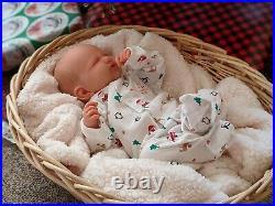 WILLIAMS NURSERY REBORN Newborn BABY GIRL BOY DOLL AnetteMarie DKI Sleep Holiday