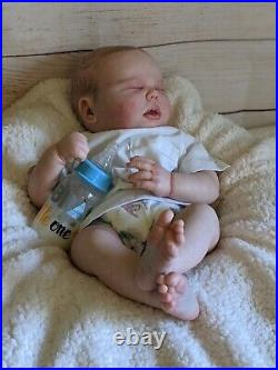 WILLIAMS NURSERY Reborn Baby BOY Doll 20.5 Realborn Harlow Realistic Newborn