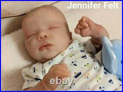WILLIAMS NURSERY Reborn Baby BOY Newborn Doll 19 Realborn Felicity Realistic