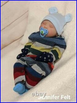WILLIAMS NURSERY Reborn Baby BOY Newborn Doll 20 Spice by Donna RuBert Realism