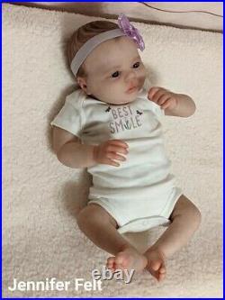 WILLIAMS NURSERY Reborn Baby GIRL Newborn Doll 18 Realborn Ever Awake Realism