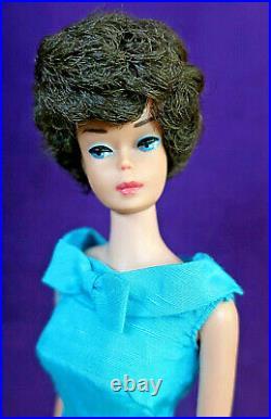 WOW 3 Vintage Bubblecut BARBIE LOT Lemon Blonde Titian Redhead Brunette AG BIN