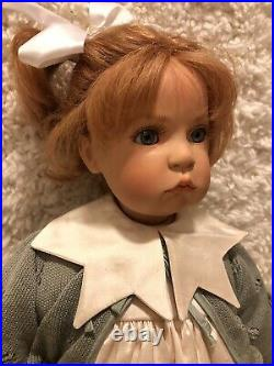 Wpm, Hildegard Gunzel Artist Doll 25 Piccolina II Le, Mint Condition 1999
